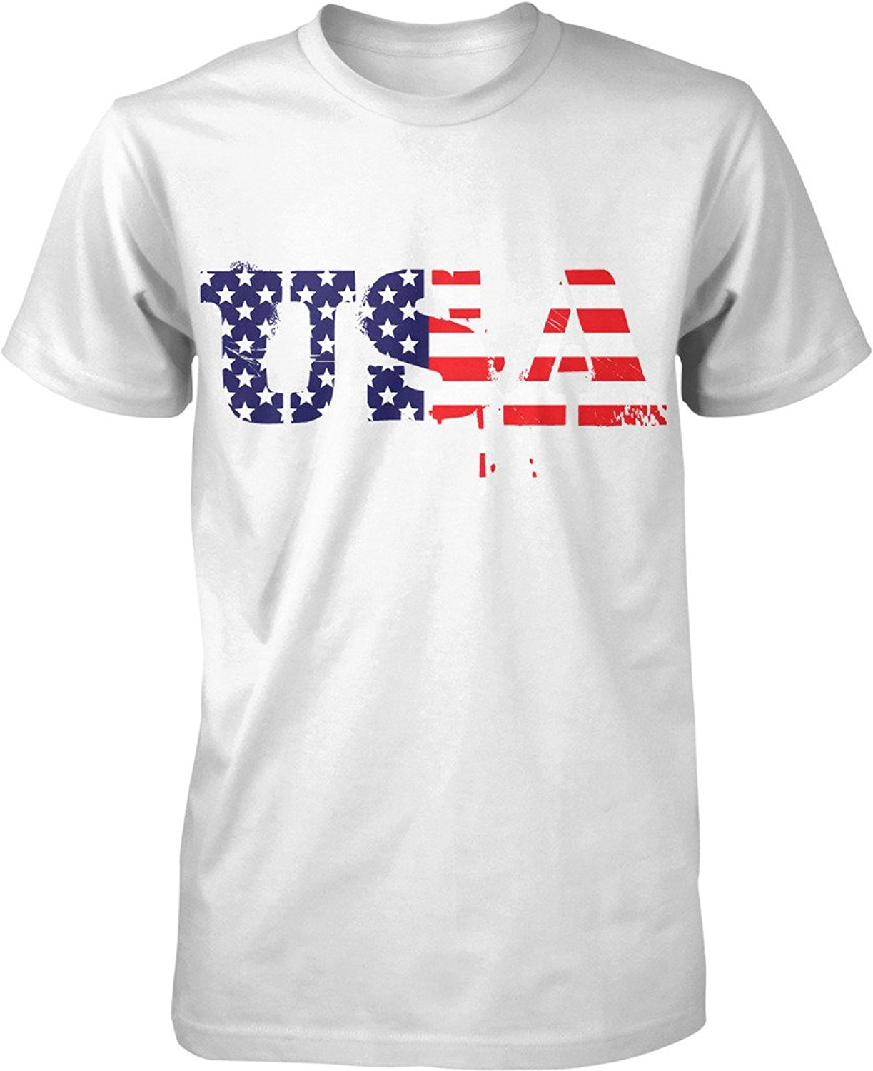 Shirt design usa - New Design Cotton Male Tee Shirt Designing Usa Red White Blue Us Flag American Pride Stars And Stripes Men S T Shirt