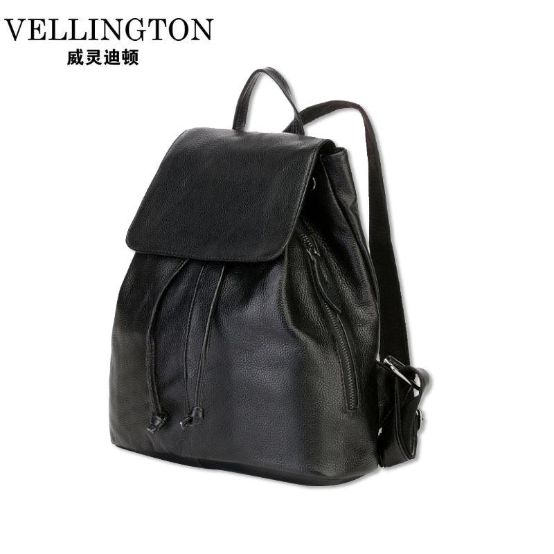 Backpack For Student Teenager School Back Pack Womens Daypacks Genuine Leather Laptop Backpack Girls Female Cowhide Backpack<br><br>Aliexpress