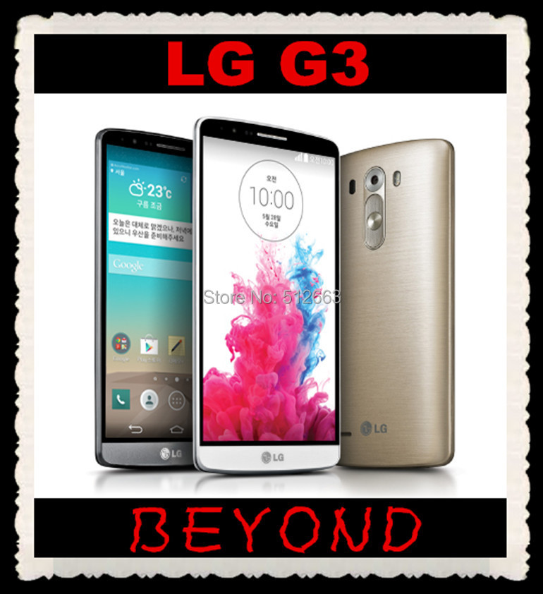"""D850 D851 LG G3 Original Unlocked GSM 3G&4G AT&T T-mobile Android Quad-core RAM 3GB 5.5"""" 13MP 32GB WIFI GPS Cell Phone(China (Mainland))"""
