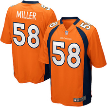 Von Miller Jerseys NFL 50 Super Bowl Football jersey(China (Mainland))