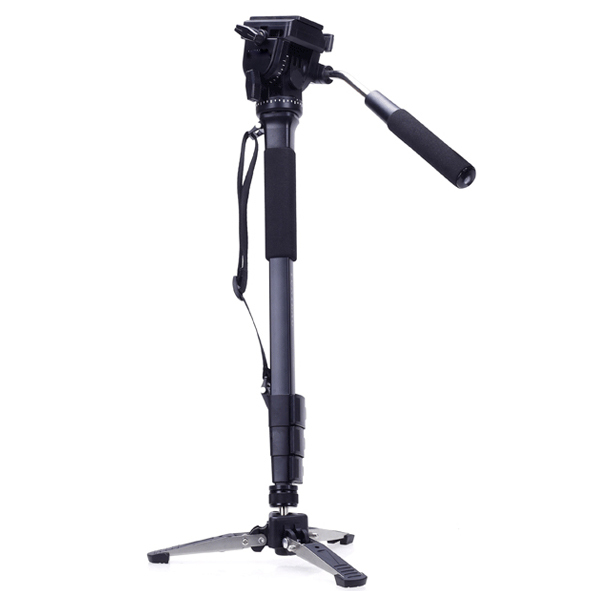 2015 New Professional Tripod Black Camera Monopod With Unipod Holder Portable DV Foot For Canon Nikon DSLR 360 Degree Adjustable<br><br>Aliexpress