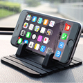 Car Phone Holder Soft Silicone Mobile Phone Mount Stands Bracket Support Gps For iPhone 5 6