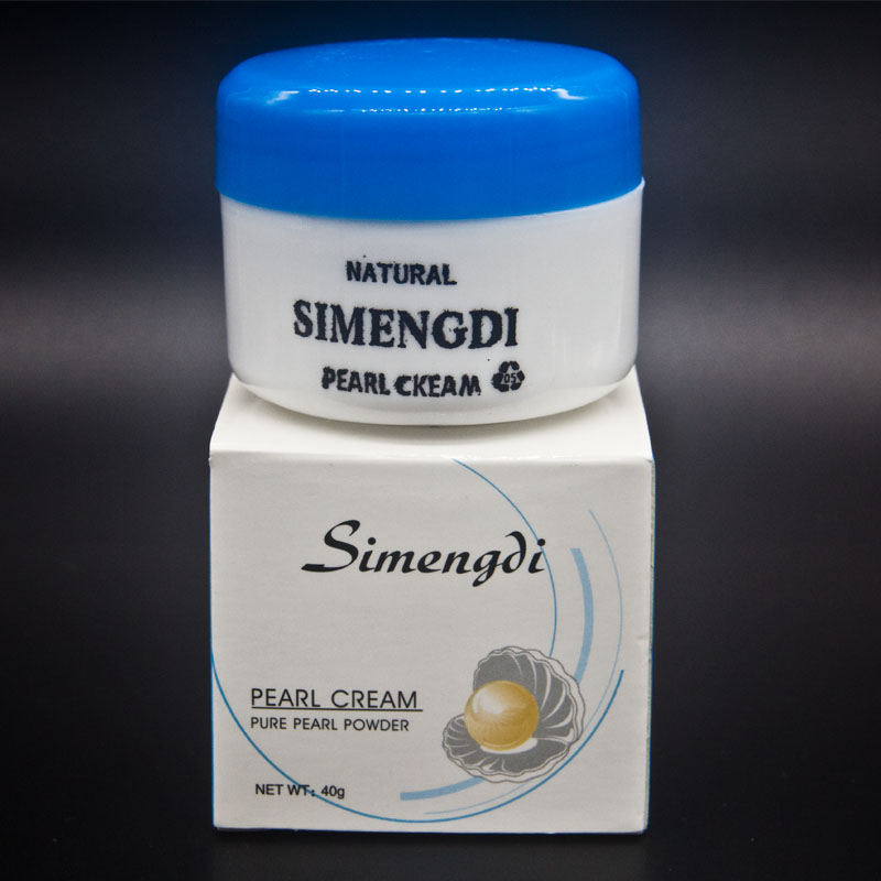 New Skin Care SIMENGDI face Care SIMENGDI pearl cream whitening cream for face anti-aging tightening firming skin(China (Mainland))