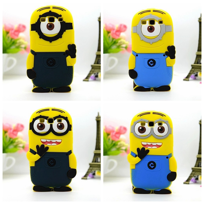For samsung galaxy s3 i9300 9300 case Despicable Me Minions telephone Cell Phone Silicone cases covers retail&wholesale(China (Mainland))