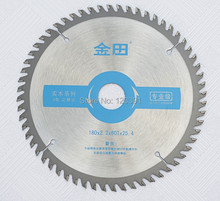 Professional quality 180*25.4*2.2*60z  TCT saw blade woodworking high density carbide tipped for home decoration wood cutting