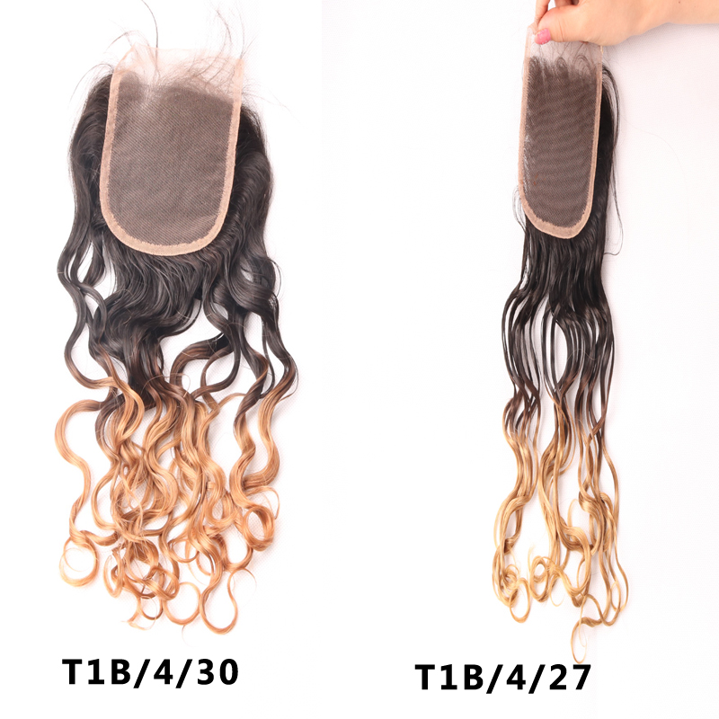 Гаджет  Brazilian Virgin 100% Unprocessed Human Hair Closures Water Wave Lace Closure Cheap Ombre Water Wave Lace Front Closure None Волосы и аксессуары