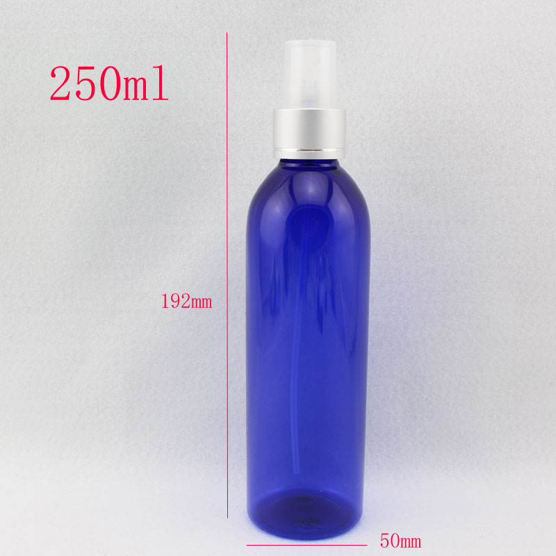 250ml x 20  refillable empty makeup setting spray bottle ,250cc mist  spray pump plastic container for cosmetic packaging  <br><br>Aliexpress
