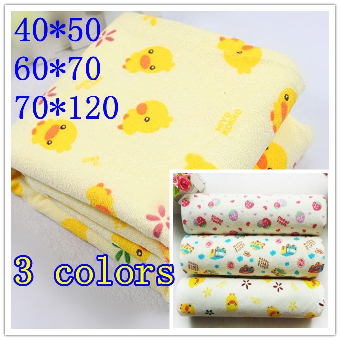 Cotton changing diapers mat/Baby Infant/Travel 40*50/60*70/70*120 covers waterproof pad/mattress/washable/urine pad bed sheet(China (Mainland))