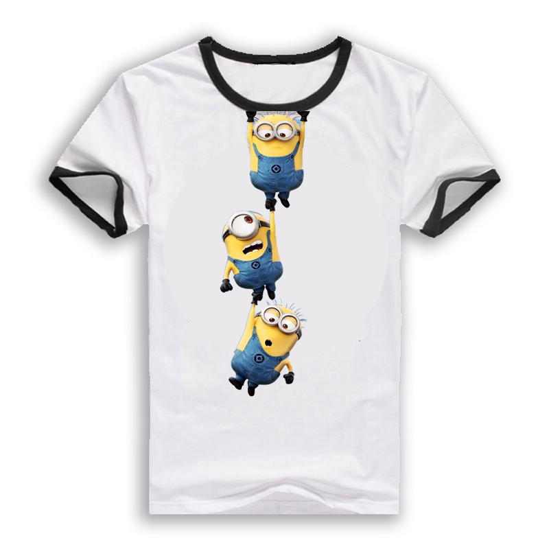 summer style clothing despicable me minions t shirt