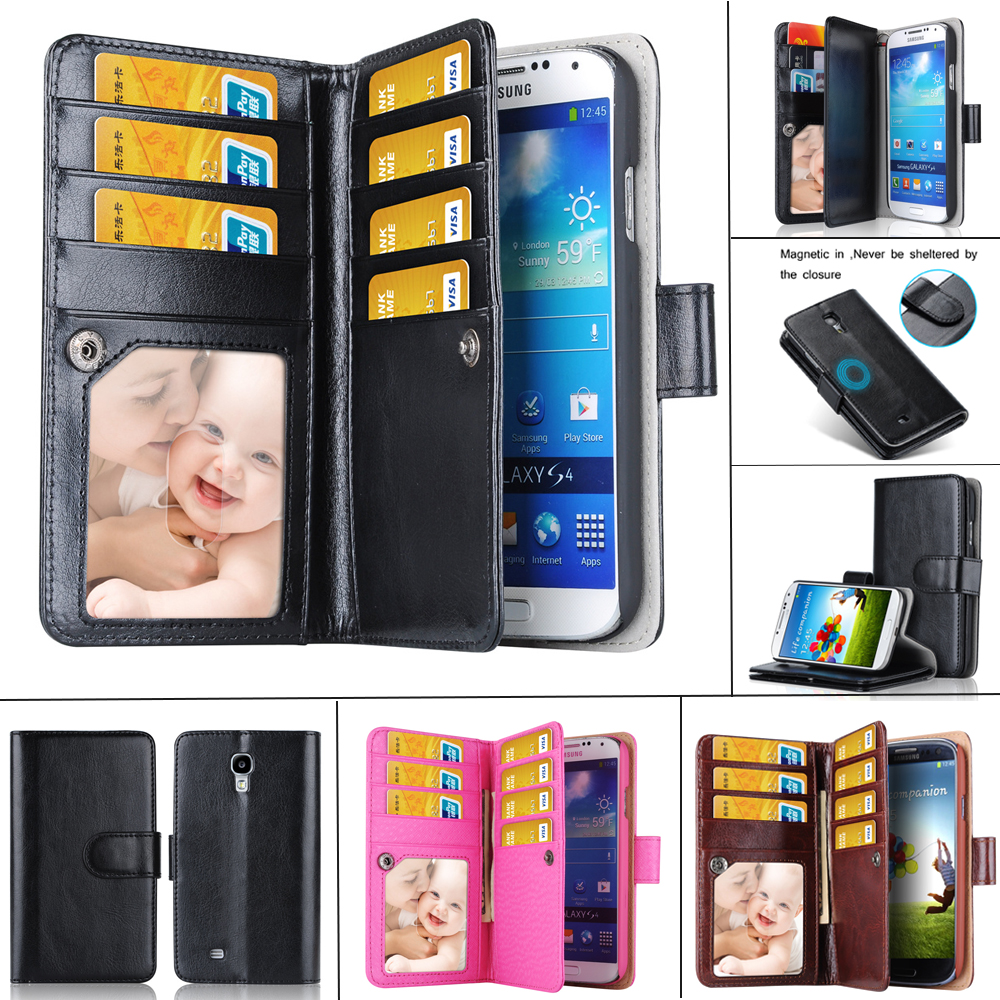 Note 4/3/2 Business Leather Case For Samsung Galaxy Note 4 3 2 Wallet Style Flip Stand Card Slot Phone Bags Low Price Clearance(China (Mainland))