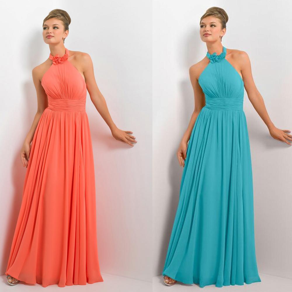 Colorful orange and blue bridesmaid dresses inspiration wedding blue and orange wedding dresses dress images ombrellifo Images