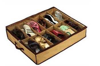 12 case Transparent Storage shoe,Dust shoe bag,free shipping  X08