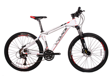Free Shipping Mountain Bike Bicycle 26  Double Mechanical Disc Braking 26 inch Mountain Bike 27 Speed Mountain Bicycle(China (Mainland))