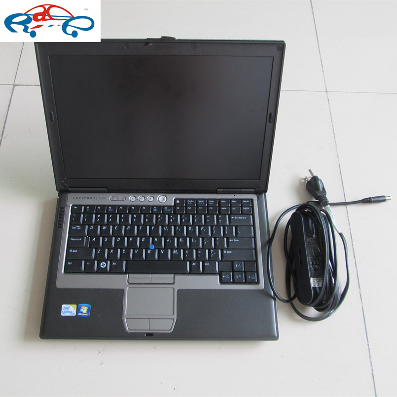 2016 Best professional laptop /notebook computer used for dell D630 2g laptop for Auto diagnostic tool without hdd best price(China (Mainland))