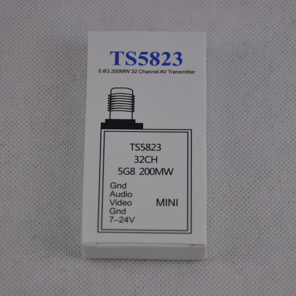 TS5823 5.8GHz 32CH 200mW Mini FPV Audio/ video Transmitter UK US DE CN Local Shipping(China (Mainland))