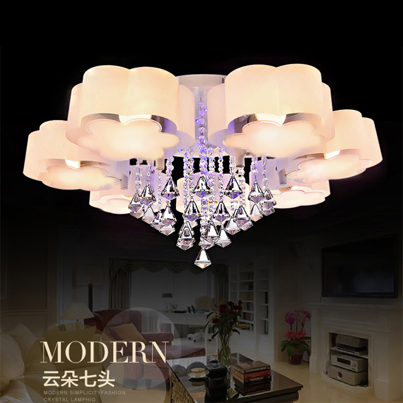 ceiling lights lamparas de techo moderne led plafond verlichting acrylic bedroom light living room lamp ceiling lighting fixture(China (Mainland))