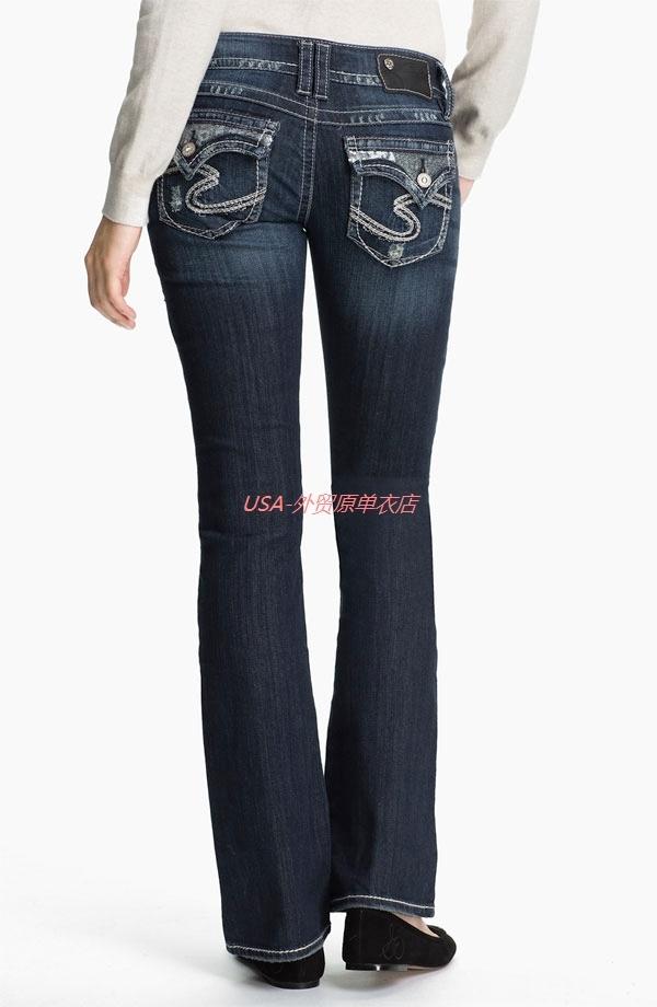 Silver Jeans Suki Straight - Jon Jean