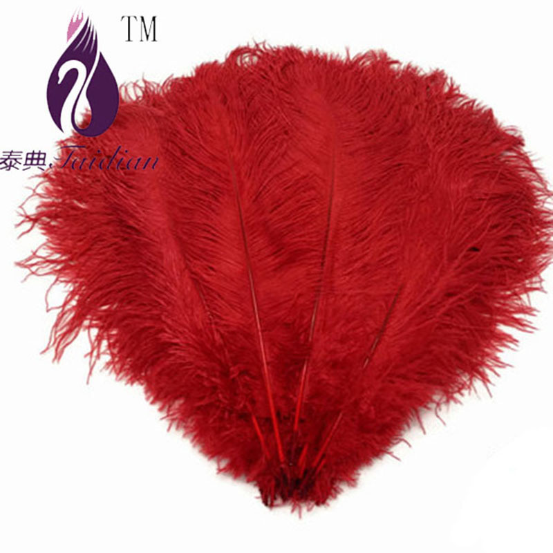 20-25cm multicolor Champagne Ostrich Feathers,Wholesale 100pcs/lot Ostrich Drabs for Craft(China (Mainland))