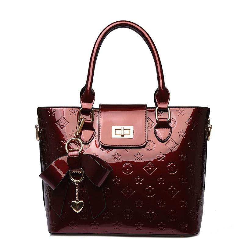 Na venda! 2015 novos mulheres couro bolsas de ombro designer de moda sacos mulheres mensageiro sacos de mulheres floral