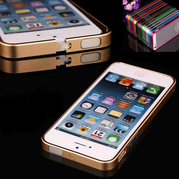 Гаджет  New Luxury Ultra Thin Aluminum Metal Bumper Frame Cover For iPhone5 5S 5 Styles Zina None Телефоны и Телекоммуникации