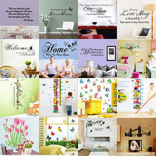 Buy Removable Art Vinyl Quote Words Wall Sticker Decal Mural Home Decor Kids WS for $2.47 in AliExpress store