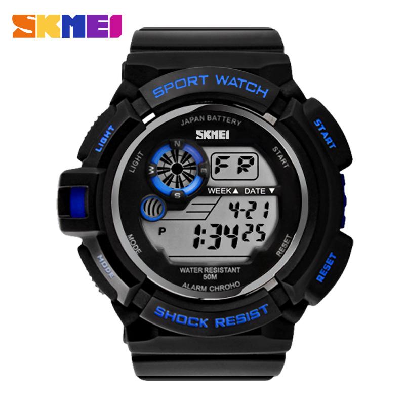 Men Sports Watches Skmei Brand Military Watch Casual LED Digital Watch Multifunctional Wristwatches 50M Waterproof Student Clock(China (Mainland))