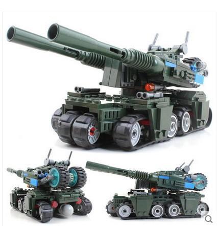 Military Building Block Set Compatible lego Apocalypse Tank 3D Construction Brick Educational Hobbies Toys Kids