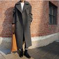 Hot sale 2016 winter high quality parkas women wool blend Coat Casual long Outerwear plus size