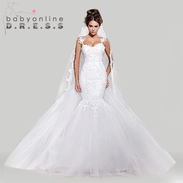 Robe de Mariage Vintage Ivory Lace Wedding Dress 2016 ...