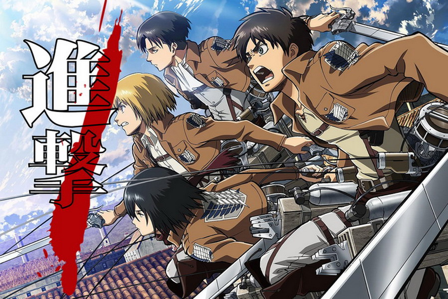Anime Characters 155 Cm : Attack on titan anime characters cm wall scroll