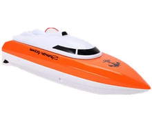 Children's mini remote control boat speed electric boat waterproof shatterproof model remote control boat toy