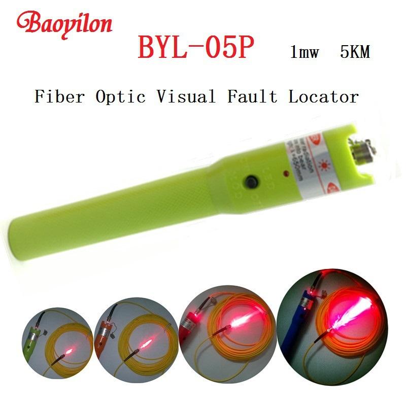Baoyilon Laser pen 5km Fiber Optic Visual Fault Locator Fiber Optic Cable Tester BYL-05P