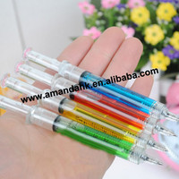 500pcs/lot Spot supply manufacturers selling hyper-realistic syringe pen syringe ballpoint pens stationery wholesale
