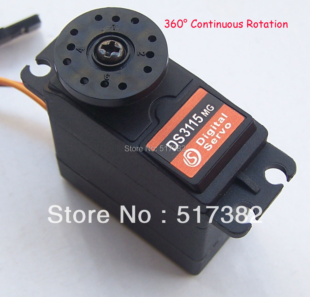 Freeship Servo 360 Degree Continuous Rotation Servo Ds3115