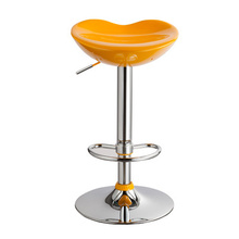 yellow color European and American fashion barber chair Middle East Dubai popular salon stool free shipping(China (Mainland))