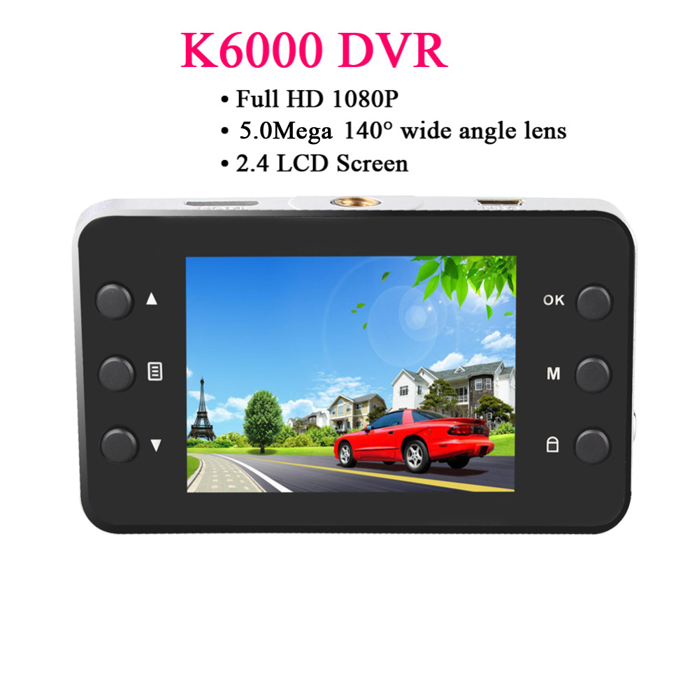 High Quality Full HD 1080P 2.4 inch Auto Car DVR Nigh Vision Dash Video Camera Recorder LCD G-sensor Durable Free Shipping <br><br>Aliexpress