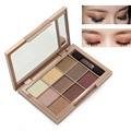 9 Color Shimmer Smoky Eyeshadow Palette Makeup With Brush Natural Eye Shadow Professional Long Lasting Glitter