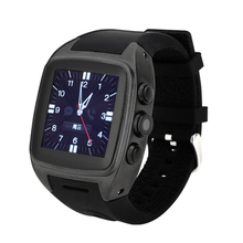 New Arrival Android 4.4.2 Smart Phone Watch X01 IPS 1.54 inch MTK6572 Dual core RAM 512MB/4GB Bluetooth 3G WCDMA GPS Camera Wifi