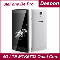Brand uleFone Be Pro 4G LTE 2GB RAM16GB ROM 64bit MTK6732 Quad Core 5.5 inch 13.0MP back camera  Android 4.4 Smartphone/Koccis