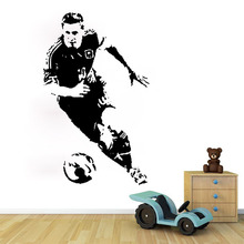 DIY Wall Stickers Famous Football Player kids living room bedroom decor Removable poster PVC sticker decals waterproof - 2015 Jav&Xxing store