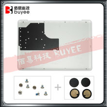 Refurbishment For Macbook 13'' White Color A1342 Bottom Case +Rubber Feet + Screws Set 604-1033 2009 2010 MC207 MC516 LL/A(China (Mainland))