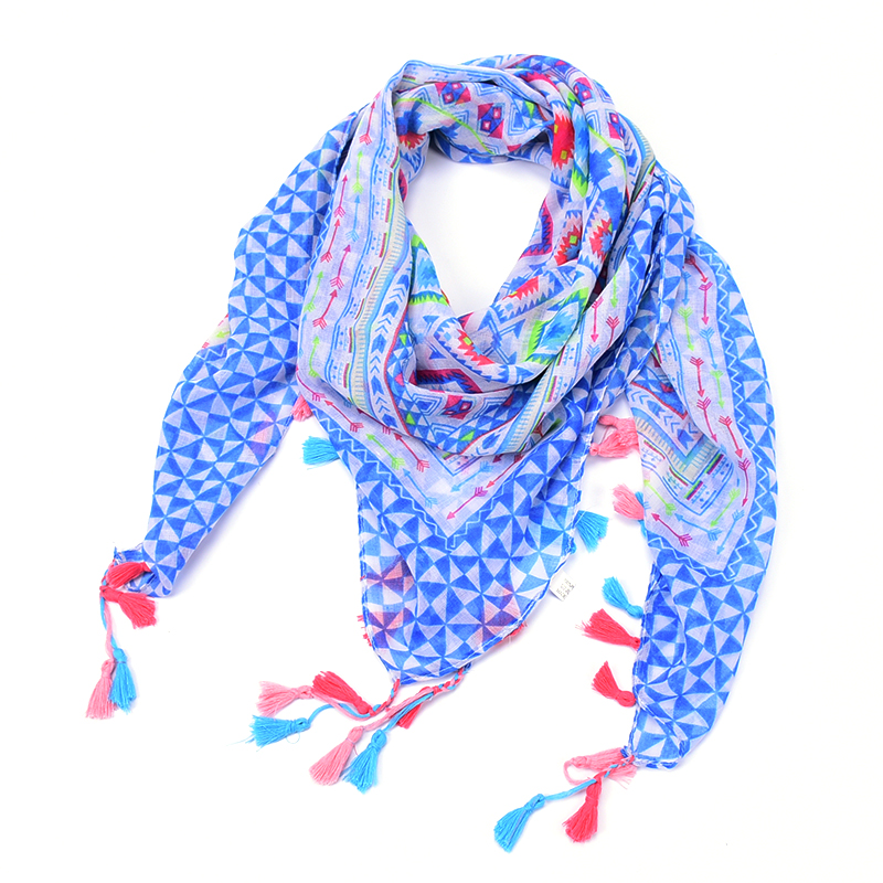 plaid kerchief scarf women winter rose floral square Flower necklace bandana font b tartan b font