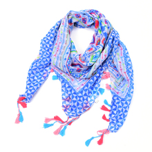 plaid kerchief scarf women winter rose floral square Flower necklace bandana tartan echarpes foulards femme bufandas mujer 2015