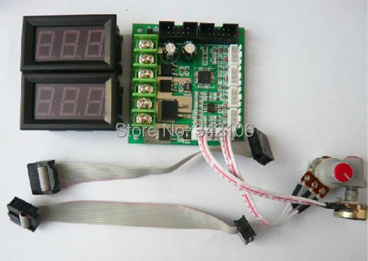 Free shipping dual dc brush motor speed controller for 24v dc motor controller circuit