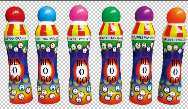 Bingo Games Markers CH-2803, fresh colored inks(China (Mainland))