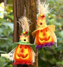 100pcs Hot Sale Halloween Pumpkin Lantern Lights Decoration Light Bar Decoration Props Halloween Supplies(China (Mainland))