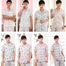 2015 Free Shipping Summer men's sleepwears,at home wears, men clothings ,pajamas set(China (Mainland))