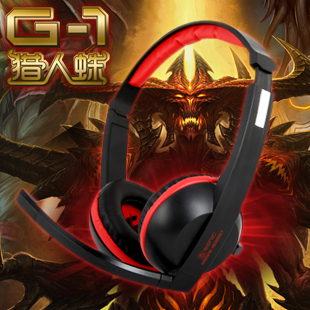 G1 computer earphones fashion headset game headset belt