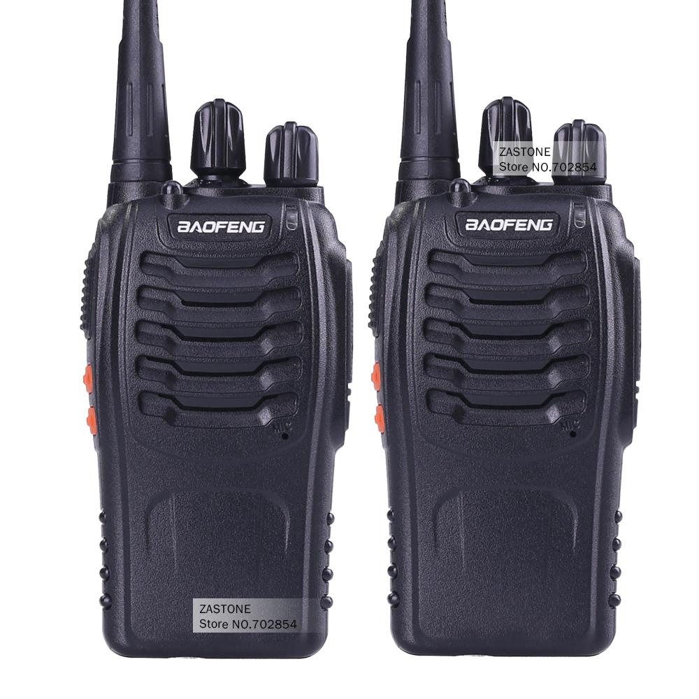 2 PCS Baofeng BF-888S Walkie Talkie 5W Handheld Pofung bf 888s for UHF 5W 400-470MHz 16CH Two-way Portable CB Radio(China (Mainland))