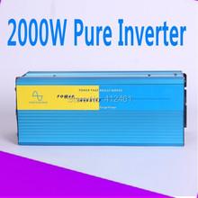 Buy 2000W ren sinus inverter High quality 2000W Pure sine wave inverter 230/220V AC 12/24VDC, PV Solar Inverter, Power inverter for $155.48 in AliExpress store
